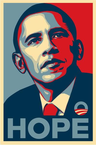 Shephard Fairey 2008 Poster